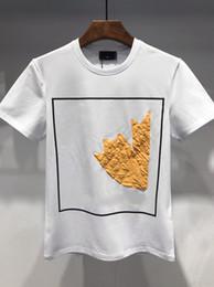 White tshirt polo online shopping - 19ss Summer Mens Designer T Shirts Wheat Corn Designer Polo Shirts Men Short Sleeve Tshirt Brand Designer T Shirts