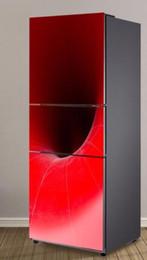 $enCountryForm.capitalKeyWord Australia - Fridge Vinyl Sticker Red Speaker Self-Adhesive Vinyl Refrigerator Decal   Fridge Wraps   Refrigerator Wrap