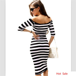 wholesale plus size clothes Australia - Bandage Women Dress Sexy Knee Length Female Bodycon Clothing Clothes Vestidos Vestido De Plus Big Large Size 5XL Robe Femme