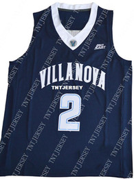 ec01c7723 Cheap wholesale Kris Jenkins 2 Villanova Wildcats College Sewn Jersey  Customize any name number MEN WOMEN YOUTH basketball jersey