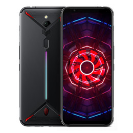 """Original Nubia Red Magic 3 4G LTE Cell Phone 6GB RAM 64GB 128GB ROM Snapdragon 855 Android 6.65"""" AMOLED Full Screen 48MP 5000mAh Fingerprint ID Smart Gaming Mobile Phone on Sale"""