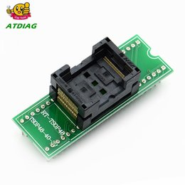 Discount test socket programmer adapter - Free shipping Top Quality TSOP48 to DIP48 adapter,TSOP48 test socket 0.5mm Pitch for RT809F RT809H & for XELTEK USB Prog