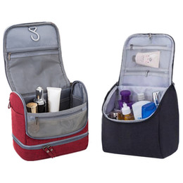 Beauty vanity cases online shopping - Women Men Hanging Cosmetic Bag Travel Necessarie Make up Toiletry Storage Makeup Vanity Cases Organizer Beauty Hook Wash