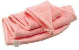 $enCountryForm.capitalKeyWord NZ - 1pcs Magic Quick-Dry Hair Towel Lady N Microfiber Hair Towel Hair-drying Ponytail Holder Cap