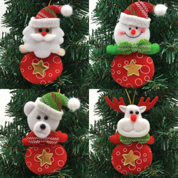 $enCountryForm.capitalKeyWord Australia - Christmas Ornaments Santa Claus Snowman Reindeer Bear 2017 Brand Festival Party Xmas Tree Hanging Decoration Gifts