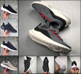 Comfortable Soft Women Shoes Australia - Mens Designer Ourdoors Walking Shoes Run Londons 2019 Women Soft Comfortable Black White Mesh Shoes Best Sports Sneakers Sportswear TM33181