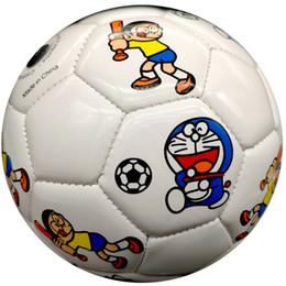 Kids Inflatable Balls Australia - Cute Soft Cartoon Soccer Ball Size 2 Toy Gift for Kids Girls Boys Childrens Day Kindergarten Shipped Deflated