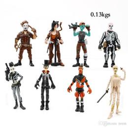 $enCountryForm.capitalKeyWord Australia - Style Fort nite Plastic Doll toys 2018 New kids 10cm Cartoon game llama skeleton role Action Figures Kids Toy