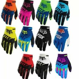Discount motorcycle road race gloves The new hot FOX off-road motorcycle racing full finger gloves mountain bike riding gloves men and women outdoor gloves
