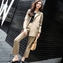 250b6b6e3e Blazer shorts set women online shopping - Casual Bandage Pockets Pant Suits  for Women Turn down