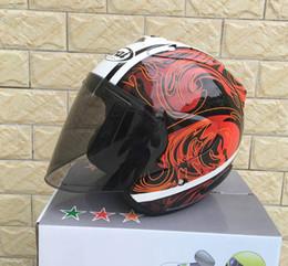 Xxl Motorcycle Half Helmets Australia - Top hot ARAI 3 4 helmet motorcycle helmet half helmet open face casque motocross SIZE: S M L XL XXL,Capacete