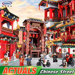 $enCountryForm.capitalKeyWord Australia - Xingbao 01001 01002 01003 Chinese Building Toys The Chinese Silk And Satin Store Xinya Palace Martial Arts Set Building Blocks MX190730
