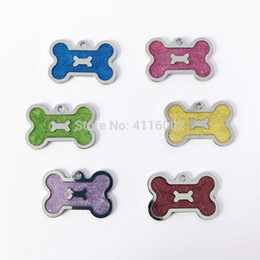 $enCountryForm.capitalKeyWord NZ - 1000 pcs lot Customized Engraved Dog Cat ID Tag Personalized Bone Shape Pet Name Plate Puppy Dogs Name Phone No. Tags