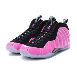 Venta al por mayor de Barato Penny Hardaway Posite zapatos de baloncesto Pearl Pink Red Black Boys Boys Juvenil Espumas one sneakers profesionales tenis con tamaño de caja 5 12