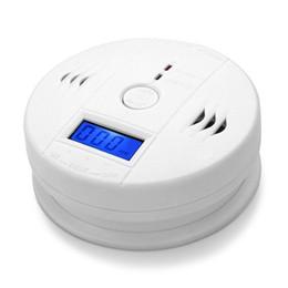 CO Le monoxyde de carbone Moniteur capteur de gaz d'alarme poisining Détecteur testeur pour la maison de surveillance de sécurité de haute qualité avec en Solde