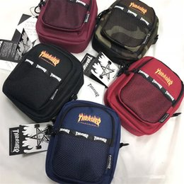 women red belts Australia - THRASHER Women Mens Designer Crossbody Bags Thrasher Bumbag Brand Belt Waist Bag Skateboard Straps Fanny Pack Messenger Travel Totes C8505