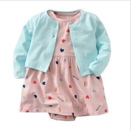 $enCountryForm.capitalKeyWord Australia - Hot Sell Summer Boys Girls Clothing Children Outfits Short Sleeve Stripe Shirts + Shorts with Belt 2pcs Sets Adorable Baby Suits K6396