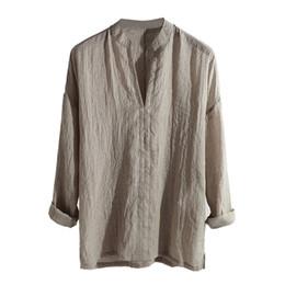 1c7d63f4f Camisa De Cuello En V Para Hombre Online | Camisa De Cuello En V ...