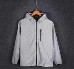 $enCountryForm.capitalKeyWord Australia - S-4xl Spring Autumn Men Windbreaker 3m Reflective Jacket Casual Hip Hop Jackets And Coats Without Any Logos Manteau T2190615