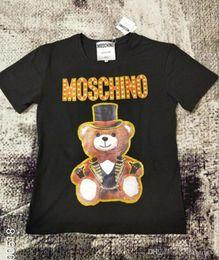 teddy bear shirts 2019 - 19ss Women T shirt style Womens Tops Teddy bear Full dress Letter t-shirt Casual Short Sleeve O Neck Woman Clothing chea