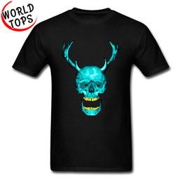airsoft clothing 2019 - 2019 men s designer clothing tshirt Novelty Design Mens Tee Shirts Pure Cotton Round Collar Leisure Tshirts Frank Skull