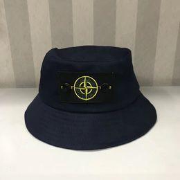 ae660a756a4c1 6 colors letter embroidery bucket hats outdoor caps men women unisex  beanies sun hats cotton stingy brim hats black white