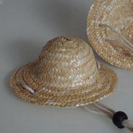 3f0f7b01327 Summer 1pcs Pet Dog Cat Cool Straw Hat Sun Hats Puppy Supplies Hawaii Style  Pet Accessories Dogs Cats Caps S M