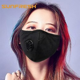 anti pollution mask wholesale Canada - Anti Pollution Mask Dust Respirator Washable Reusable Masks Men Women Anti Dust Mask Anti PM2.5 Pollution Face Mouth maske