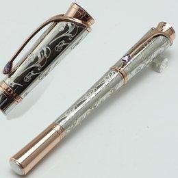 $enCountryForm.capitalKeyWord Australia - Luxury Princesse Grace de Pattern Engraved roller ball Pen School Office Stationery MB brand pens Gift