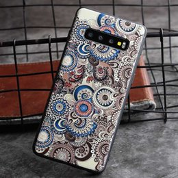 $enCountryForm.capitalKeyWord Australia - New Fashion Shockproof Phone Case for Samsung S10 S10+ S10e S9 S9 Plus S8 S8 Plus Note 9 Note 8 Protective Silicone Back Cover 2 Styles
