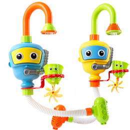 $enCountryForm.capitalKeyWord Australia - Baby Toys Bathtub Accessories Waterwheel Shower Spray Water Play Game For Bath Bathroom Toy Kids Q190531