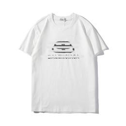 China Fashion designer men's Tshirt spring and summer Paris printing trend BB lock chain letter shortsleeved TEE casual street Tshirts supplier lock flash suppliers