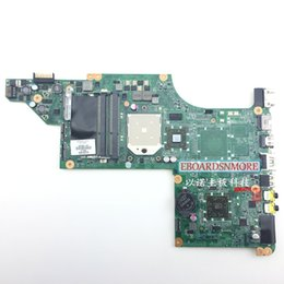dv7 motherboard Canada - 605496-001 amd board for HP pavilion DV7 DV7-4000 laptop motherboard with AMD chipset