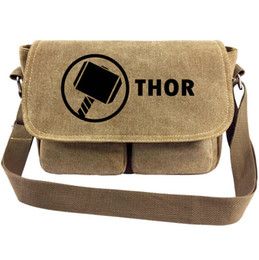 $enCountryForm.capitalKeyWord NZ - Thor messenger bag Super hero Odinson sling case Cool Quake satchels Sport canvas urick Single shoulder pack Outdoor haversack