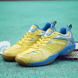 $enCountryForm.capitalKeyWord Australia - Professional Cushioning Volleyball Shoes Men Women Sports Breathable Sneakers Hard-wearing Table Tennis Shoes Female Sapato Femin Size 36-45
