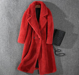 $enCountryForm.capitalKeyWord NZ - Ins hot Lapel neck Meifeng Sheep shearing fur long coats Double Breasted outdoor Cold resistant women fur coats With Cashmere Lining