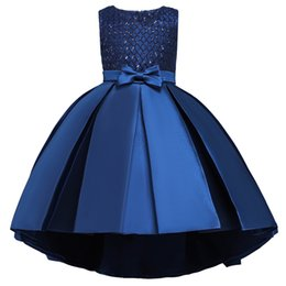 Discount dress for children 12 years - 2019 Ball Gown Girl Elegant Dress Kids Dresses For Girls Children Pageant Princess Dress Party Wedding Evening 10 12 Yea