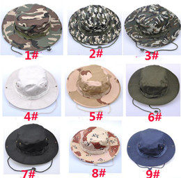 70a4a3f2239 Tactical Bucket Beanie Hats Airsoft Sniper Camouflage Nepalese Cap Military  Army American Military Accessories Hiking Hats DC075