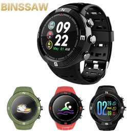 $enCountryForm.capitalKeyWord Australia - GPS Bluetooth watch F18 smart watch HD color screen heart rate monitoring IP68 waterproof support Bluetooth 4.2 Android and IOS
