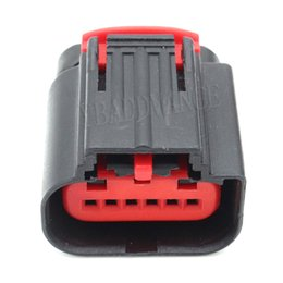 Pedal Accelerator Australia - 6 Pin Wire Automotive Electrical Tyco Pa66 Connector 1-1419168 For Ford Accelerator Pedal