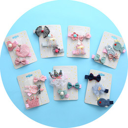 $enCountryForm.capitalKeyWord Australia - Korean version of the new children's headdress cartoon butterfly knot flower hair ball animal snail hair clip jewelry