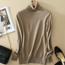 b187b05aa9 Orange turtleneck sweater wOmen online shopping - Thoshine Brand Spring  Autumn Style Women Knitted Cashmere Sweaters