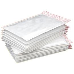 venda por atacado Bolha branca Envoltório de amortecimento Envoltório de correio Pearl Filme Envelope Courier Sacos Impermeáveis Empacotamento