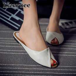 Women's Shoes Tangnest 2019 New Summer Novelty Med Heel Slides Women Platform Slippers Slip On Solid Sandals Fabric Lady Daily Mules Xwz5562 Shoes