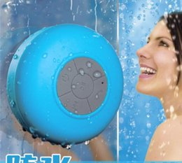 Portable animal sPeakers online shopping - Mini Portable Subwoofer Shower Waterproof Wireless Bluetooth Speaker Car Handsfree Receive Call Music Suction Mic For iPhone Samsung