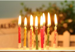Colored Candles Birthday Cake UK