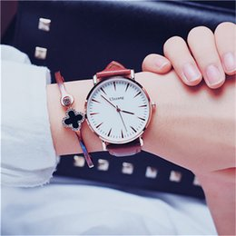 designer gifts for women Canada - High Quality Fashion Watches Leather strip Women Designer diamond Watch Casual Quartz wristwatches Relogio watches best gifts for girls