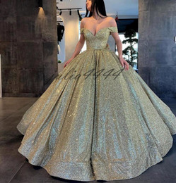 holiday evening gowns floor length Australia - Off the Shoulder Evening Dresses Ball Gown Sequined Formal Women Holiday Wear Celebrity Party Gowns Plus Size Custom Made