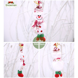 $enCountryForm.capitalKeyWord Australia - Merry Christmas Ornaments Gift Santa Claus Snowman Tree Toy Doll Hanger Decor for Home Party DTT88