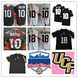 ffe0ddb8a Mens NCAA UCF Knights McKenzie Milton College Football Jersey  18 SM.GRIFFIN  Jersey Shaquem Griffin UCF Knights Bowl Game Patch Jersey S-3X